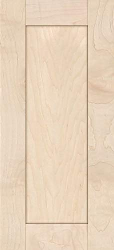 Unfinished Maple Shaker Cabinet Door by Kendor, 22H x 10W