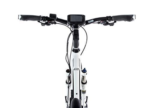 31PQdKLDkuL - 28 Zoll E-Bike Leader Fox Damen Elektro Fahrrad Pedelec 21 Gang Akku USB 46cm hoch