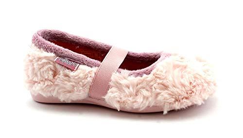Grunland Milk PA0562 Rosa 28/30 Bambina Pantofole Tipo Ballerina Elastico 30