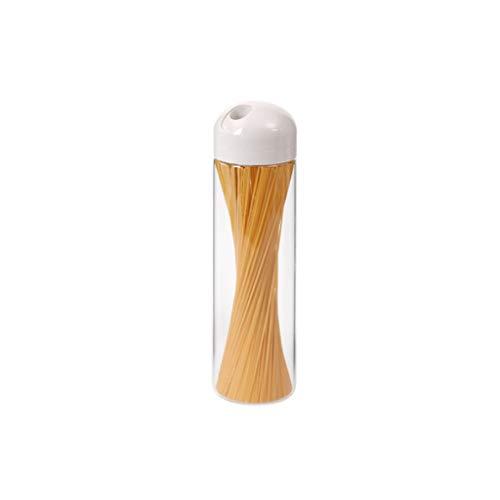LTCTL Tarros de Almacenamiento Tarros de Vidrio frascos herméticos Cocina for Guardar envases de Comida de Vidrio Claro Juego de Envases Tarro con Tapa Frascos y Botes de Comida (Color : Three Packs)