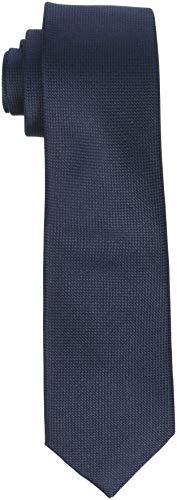 SELECTED HOMME Herren SLHNEW Texture TIE 7CM NOOS B Krawatte, Blau (Dark Sapphire Dark Sapphire), One Size