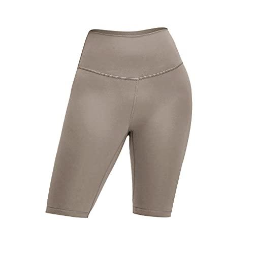 WUHUI Mujer Pantalón Deportivos Yoga Fitness Jogger, Cinco Pantalones de Cintura Alta, Pantalones de Yoga de Cuerpo Delgado, E_XL, Pantalones de Sauna Adelgazantes Mujer