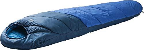 McKinley Unisex– Erwachsene Camp Active 0 II Schlafsack, Blue/Blue Dark/Blue, 195L