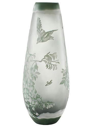 aubaho Vase Replika nach Galle Gallé Glasvase Glas Antik-Jugendstil-Stil Kopie c3
