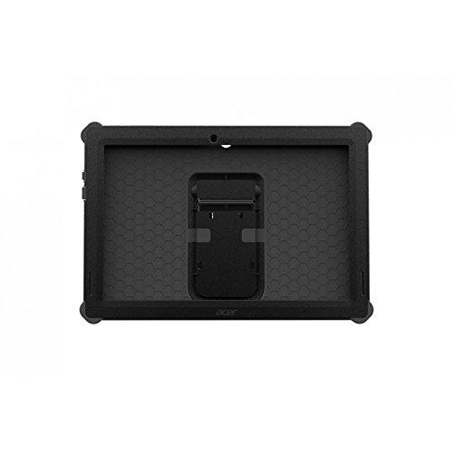 Acer–Rugged Bumper Case–Cover Protettiva con Coperchio Posteriore per Tablet–Resistente–Pelle–Nero–per Iconia Tab 10