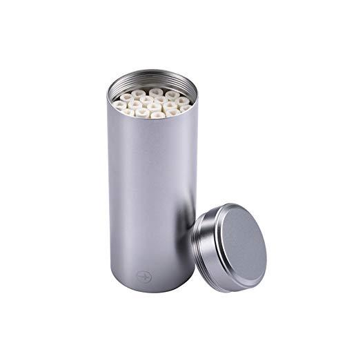 ZPF Zigarettenetui, wasserdichter EDC-Behälter, feuchtigkeitsbeständiger Pillenbehälter aus Aluminium für die Luftfahrt
