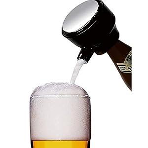 TRIFACE ハンディー ビールサーバー 缶ビール 瓶ビール 2in1 超音波式 泡が出る クリーミー泡 お祝い パーティー アウトドア 家飲み TBF-60 (06)