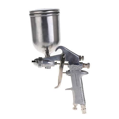 WOWOWO F75 Professionelle Farbspritzpistole Sprühpneumatische Airbrush 1,5 mm Düse Autolackierung Automöbelkonstruktion Lackierwerkzeuge