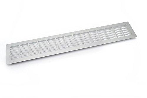 Grill cucina In alluminio zoccolo / piano di lavoro di cottura 480 x 80mm