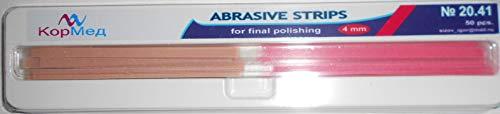 Dental Abrasive Finishing Polishing Strips (Gross Reduction, 4 mm Wide)