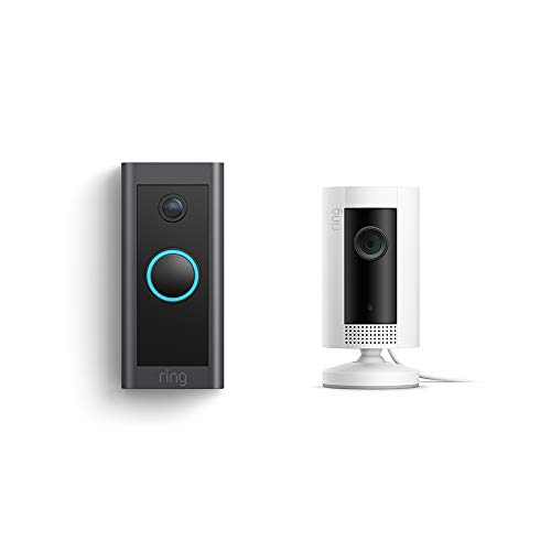 Save 12% on Ring Indoor Camera and Video Doorbell Wired