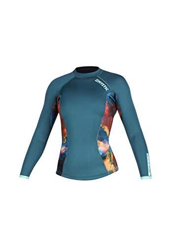 Mystic Watersports - Surf Kitesurf & Windsurfen Damen Diva 2mm Neopren Neoprenanzug Top - Teal