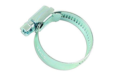 Connect Atelier consommables 36901 Clip de tuyau en acier doux 23 à 35 mm Lot de 4