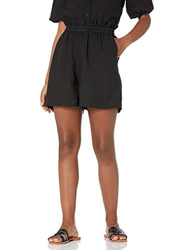 The Drop Women's Priya Pull-On Linen Short