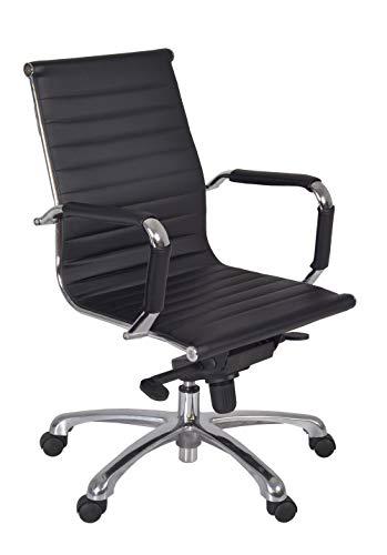 Regency Selene Swivel Chair, Black