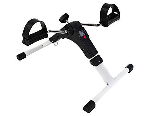 MAXOfit Pedaltrainer MF-9, Bewegungstrainer klappbar mit Zählwerk, geeignet für für Arme, Schultern und Beine