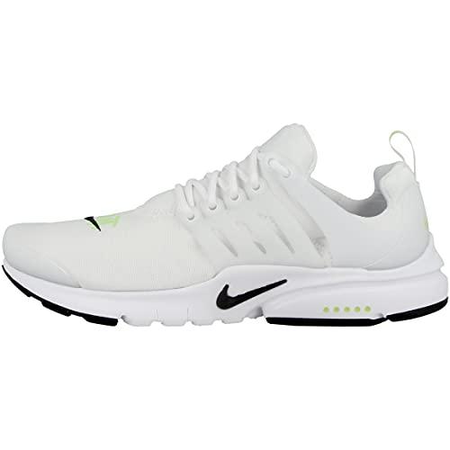 Nike Sneaker unisex per bambini Low Presto (GS), White Volt Black Dm3270 100, 40 EU