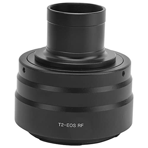 Anillo adaptador de telescopio, 1,25 pulgadas, telescopio astronómico negro, montaje en T, adaptador de anillo de tubo, montaje en T / T2 / R, adaptador convertidor de cámara para cámara Canon con mon