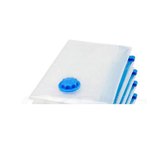 Longspeed Bolsas de plástico de Sellado de Ahorro de Espacio de Almacenamiento de compresión al vacío-Transparente-40x50