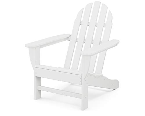 POLYWOOD Classic Adirondack Adirondack Chair, White