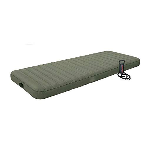 Feeryou Portable Mattress Air Mattress Indoor Sleeping pad Outdoor Camping Mattress Quality Assurance Gentle Comfort Compact Lightweight Super Strong (Color : Green, Size : 76191cm)