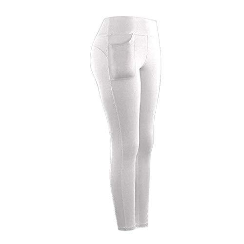Leggings Mujer Entrenamiento Ropa De Cintura Alta Leggins Femenino Transpirable Sólido Fitness Pantalones Señoras Gimnasio Deportes Legins