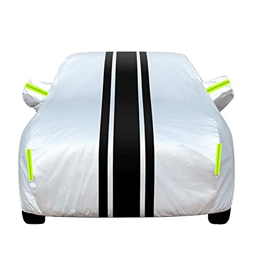 Telone antigrandine per Auto Copertura completa del veicolo con strisce riflettenti Parabrezza dell'auto Neve, pioggia, polvere, grandine, protezione, copertura dell'auto, compatibile con Alfa Romeo/G