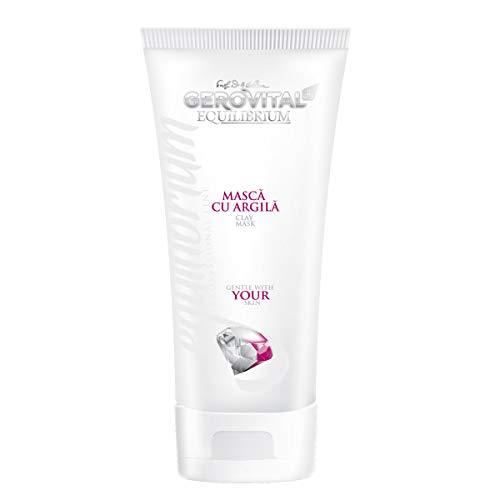 Gerovital H3 Equilibrum, Mascarilla con Arcilla, para todo tipo de pieles, 200 ml
