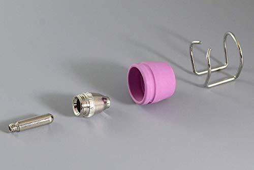 WSD-60P P60 plasmaschneider Fackel Pilot ARC Verbrauchsmaterial KIT düse 1,2 60Amp 13 Stck - 4
