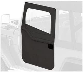 Bestop 51774-15 Black Denim 2-Piece Door Set for 1964-1984 Toyota Landcruiser/FJ40 - Front