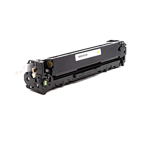 USA Advantage Compatible Toner Cartridge Replacement for HP 131A / CF212A (Yellow,1 Pack) Photo #3