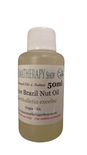 The Aromatherapy Shop Pur Noix Du Brésil / Amazonienne Huile De Noix - 50ml