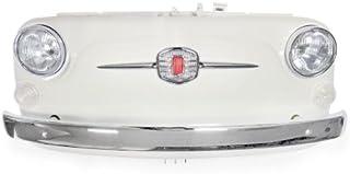 Fiat Frontale Bianco 500 con Illuminazione