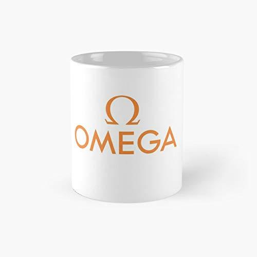 Taza clásica Omega Sa | Mejor regalo divertido tazas de café 12 oz