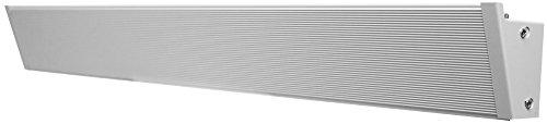 "KING KCV2404-W alCove Series Radiant Convection Cove Heater, 34"" / 420W / 240V, White"
