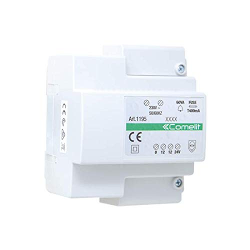 Comelit - Transformador con primario 230v secundario 12-24v/60va