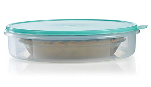 Tupperware Round Pie & Pastry Container Mint Ice Cream