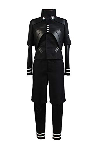 Ken Kaneki Outfit Cosplay Costume Uniform Battle Jumpsuit Black