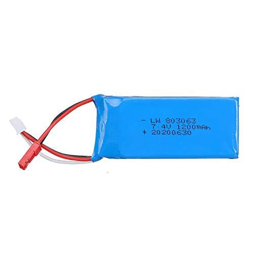 X6 H16 X101 X102 Control Remoto 7.4V 1200mAh 30C batería de Litio 7.4V 1200mAh 2S batería de Litio 803063 EL-2Predinsquare