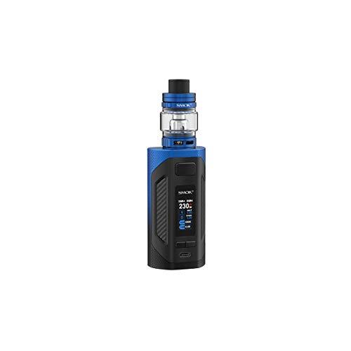 SMOK Rigel 6.5ml Kit Cigarette Electronique 230W Kit Complet - Sans Tabac Ni Nicotine (Noir Bleu)