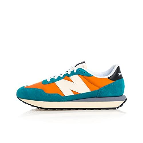 New Balance Chaussures de Sport pour Hommes MS 237 Color Vintage Orange Team Teal Talla 41.5