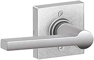Schlage J170SOL626COL Solstice Non-Turning One-Sided Dummy Door Lever with Decorative Colton Trim from The J-Series
