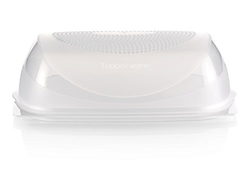 Tupperware KäseMaX neues Modell groß, Kunststoff, weiß - transparent, 30 x 18.8 x 9.4 cm