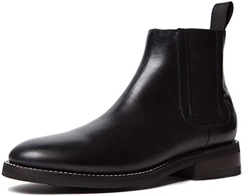 Thursday Boot Company Botas Chelsea de Duke para hombre, negro (Negro), 43 EU
