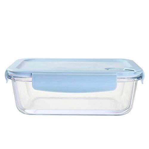 JJZXT Multisize Extra Grande microondas Horno Caja Fuerte de Vidrio Almacenamiento de Vidrio contenedores de Almuerzo Caja de Almuerzo Tapa de Tapa hermética Herramientas de Cocina