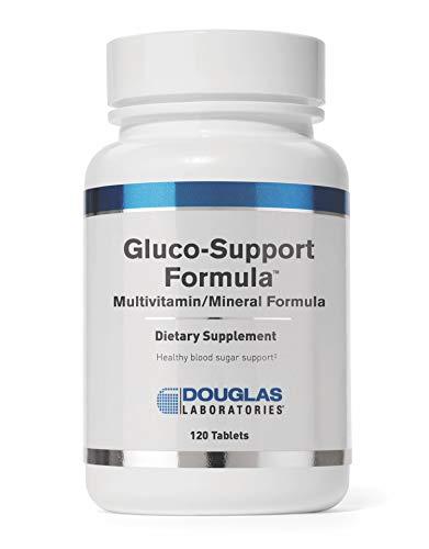 Douglas Laboratories - Gluco-Support Formula - Multivitamin/Mineral Formula to Support Healthy Glucose Metabolism - 120 Tablets