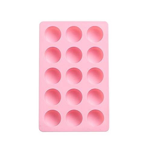 N-B Molde de silicona simple para cubitos de hielo congelados para el hogar del cubo de hielo congelado refrigerador cuadrado de plástico molde de hielo DIY caja de suplemento de