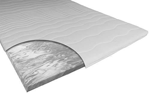 ARBD Matratzenauflage - Topper - Matratze | Verschiedene Modelle mit 7-12cm Gesamthöhe | waschbarer Bezug | Made in Germany (eco - H3-7 cm, 140 x 200 cm)
