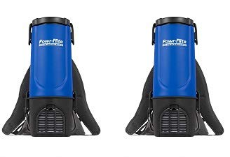 Fantastic Deal! Powr-Flite BP4S Pro-Lite Backpack Vacuum, 22.5 Height, 9.5 Length (2)