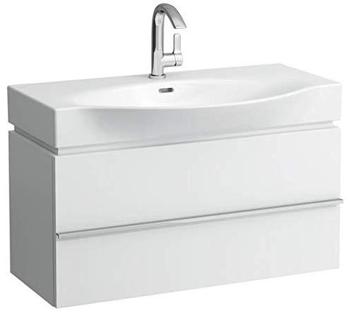 Lopende Case Vanity unit, 1 lade, 895x460x375, lucifers wastafels paleis 811702/3, Kleur: Eikenhouten antraciet decor - H4012510755481